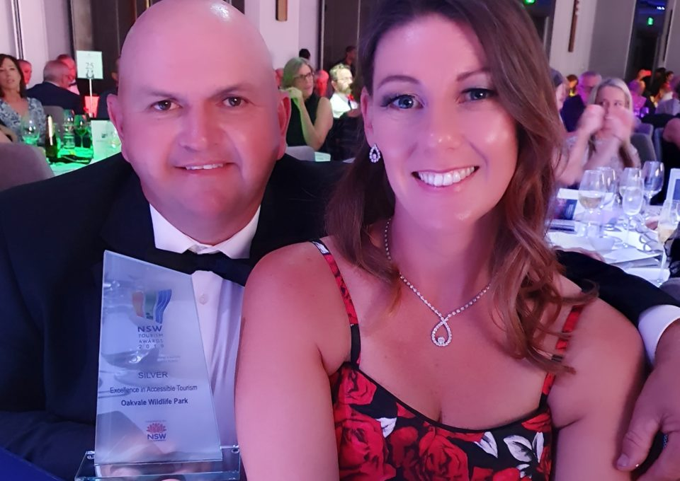 WIN FOR OAKVALE WILDLIFE PARK  AT NSW TOURISM AWARDS! | Oakvale Wildlife