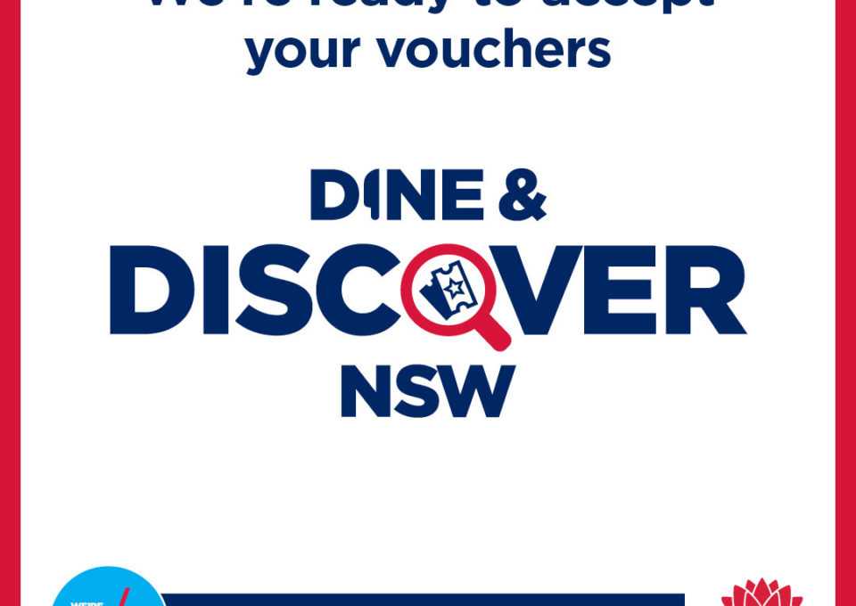 Service NSW Dine & Discover Vouchers | Oakvale Wildlife