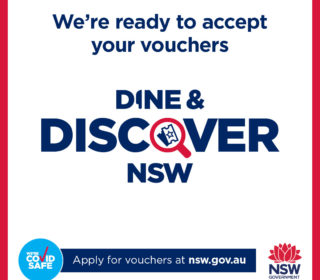 Service NSW Dine & Discover Vouchers | Oakvale Wildlife