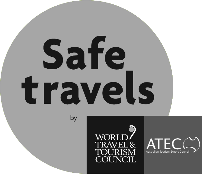 The WTTC 'Safe Travels' Stamp is globally recognised and provides a level of confidence for both the tourism trade and consumers that Australia is a safe destination to travel with COVID safety plans and procedures in place